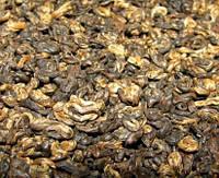 Золотая улитка - китайский чёрный чай - 50 грамм