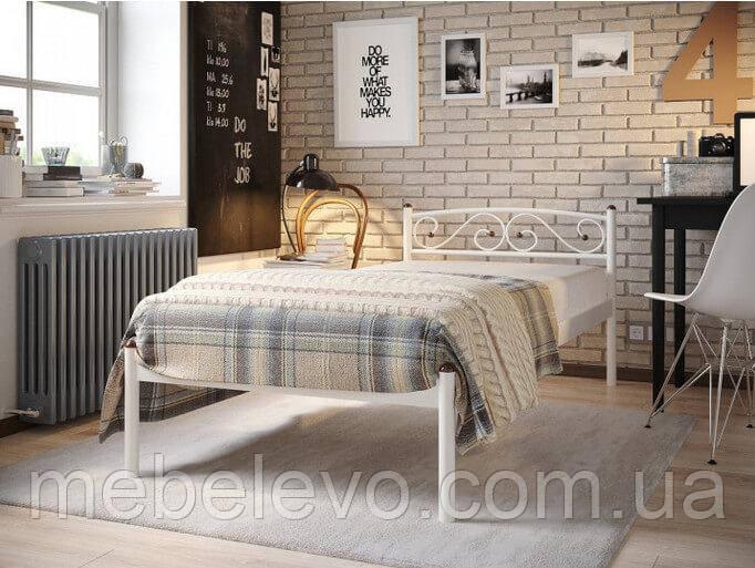 Кровать Верона  без изножья односпальная 80  Метакам