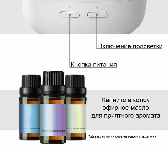 Увлажнитель-ароматизатор воздуха Baseus Creamy-white Aroma Diffuser ACXUN-02 Белый