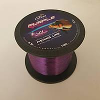Леска карповая Carp Expert 0.30mm UV Purple 1000м 12.5кг