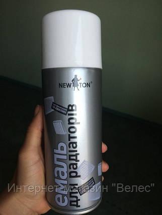 Эмаль для радиаторов Newton Белая 400мл, фото 2