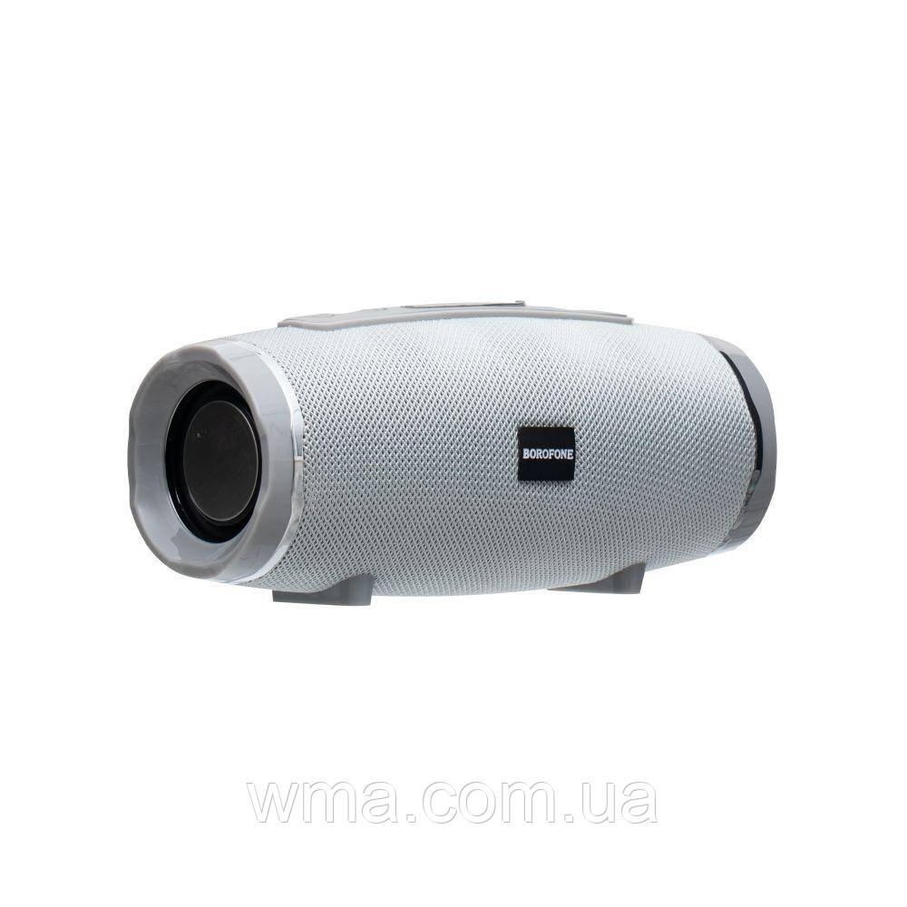 Bluetooth колонка (Беспроводная портативная блютуз) Borofone BR3 Цвет Серый