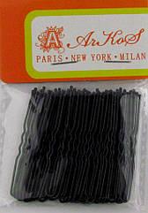 Шпильки для волосся чорні 5 см 50 шт/уп