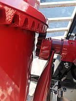 Строительная Электрическая бетономешалка на 125 л с чугунным венцом FORTE EW2125P бытовая 550 Вт, фото 3