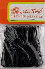 Шпильки для волос черные 6 см 50 шт/уп