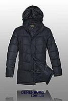 Куртка зимняя мужская BLACK LEOPARD WOLF 15802 тёмно-синяя