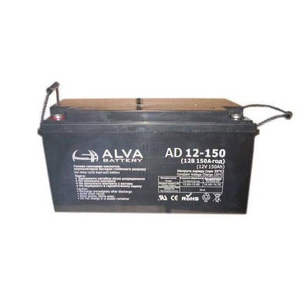 Акумуляторна батарея AD12-150, фото 2