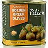 Оливки жёлтые маринованные в оливковом масле с травами/ Pelion Marinated Golden Greek Olives 290 г