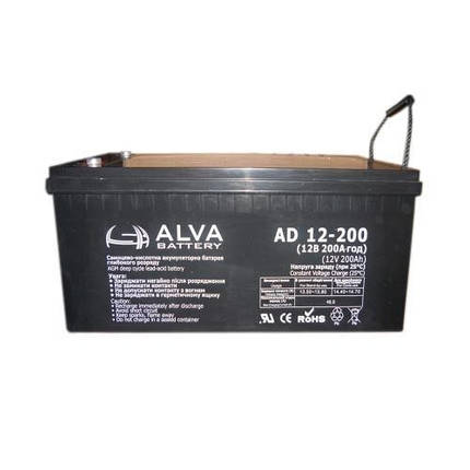 Аккумуляторная батарея AD12-200, фото 2
