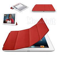Чехол-обложка Smart Cover Polyurethane для iPad 2/3/4 Красный