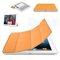 Чехол-обложка Smart Cover Polyurethane для iPad 2/3/4 Оранжевый