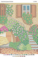 """Схема для вышивки бисером """"Лесница в цвету"""""""