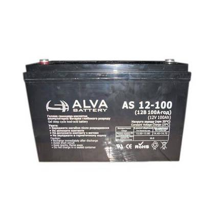 Акумуляторна батарея AS12-100, фото 2