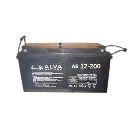 Аккумуляторная батарея AS12-200, фото 2