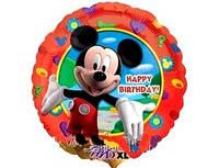 Фольгированный шар Микки Маус 46см