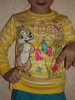 Детский бантик с начесом