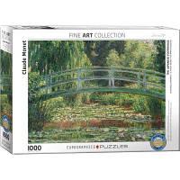 Пазл EuroGraphics Японский мостик. Клод Моне. 1000 элементов (6000-0827)