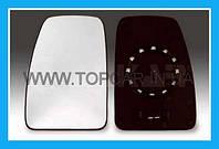 Вкладыш зеркала левое на Renault Master 98- без подогрева   Alkar(Польша) Al6401905