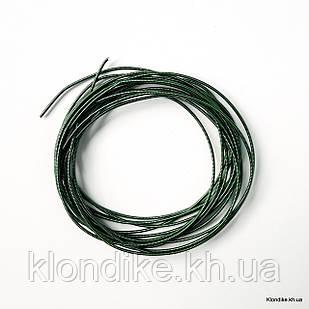 Канитель жесткая, 1 мм, Цвет: Зелёный (5 грамм)