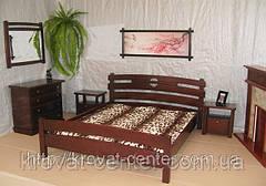"""Кровать """"Токио"""" (200*200см.), массив - сосна, ольха, береза, дуб., фото 2"""