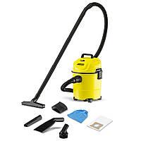 Пылесос для сухой и влажной уборки Karcher WD 1 Car (53534)
