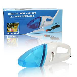 Автомобильный пылесос High-Power Vacuum cleaner portable 12V SKL11-130400, фото 2
