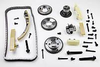 Комплект ланцюга ГРМ Ford Transit 2.4 DI/2.2-2.4 TDCI 06- (ланцюг, натягувач, шестірня) z=132 BGA