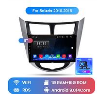 Junsun 4G Android магнитола для solaris hyundai Accent Verna creta  2010-2019 wifi