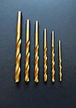 Сверло по металлу нитрид-титановое d 1.2 мм, фото 2