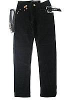 Брюки котоновые черные для девочки, размеры 140. арт. CSQ 88777, фото 1