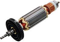 Якорь (ротор) угловой шлифмашины Makita 9565 CVL CLR 515238-9 болгарки