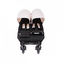 Прогулочная коляска для двойни Baby Monsters Easy Twin 3S Light, фото 2