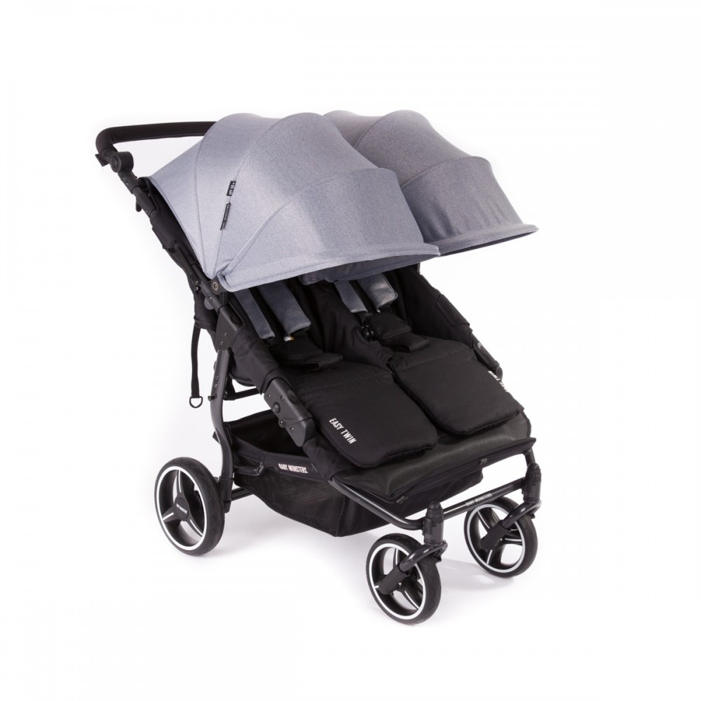 Прогулочная коляска для двойни Baby Monsters Easy Twin 3S Light