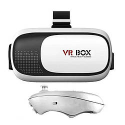 Очки Виртуальной Реальности VR Box 3D Glasses с пультом+ПОДАРОК!