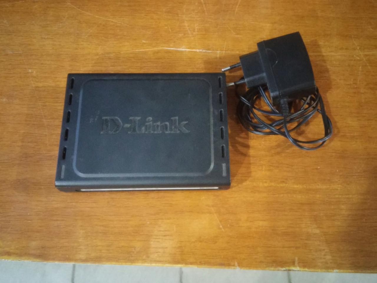 Маршрутизатор ADSL D-Link DSL-2500U