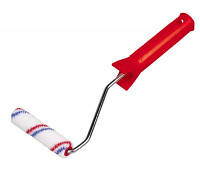 Валик Hardy Nylon Plus с ручкой (бугелем) 15 х 100 мм универсальный для всех видов красок и эмалей.