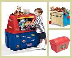 Контейнеры для игрушек и вещей