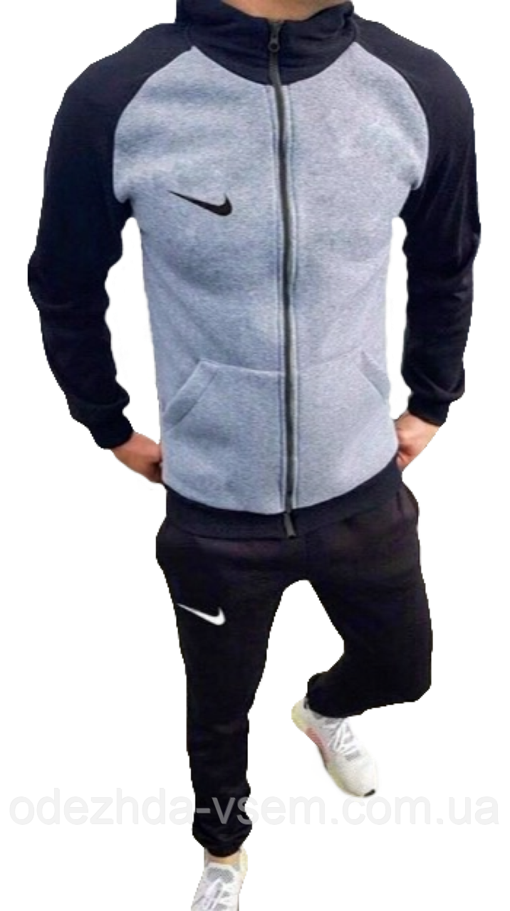 Спортивный мужской костюм Утеплённый