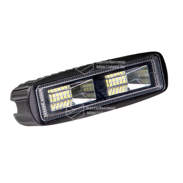 Фара LED прямокутна 20W (20 діодів)
