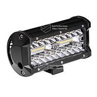 Фара LED прямоугольная 120W (40 диодов), фото 1