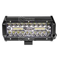 Фара LED прямоугольная 120W (40 диодов), фото 4
