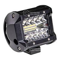 Фара LED прямоугольная 60W (20 диодов) 98 mm, фото 4