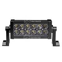 Фара LED bar прямокутна 36W (12 діодів) 252 mm, фото 4