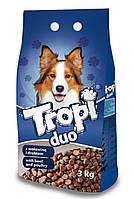 Сухой корм для собак TROPI Duo с говядиной и курицей 3 кг