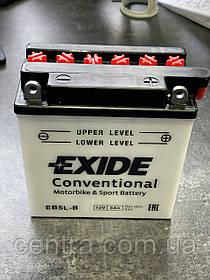 Мото аккумулятор EXIDE EB5L-B