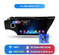 Junsun 4G Android магнитола для kia rio 2017 - 2019 wi-fi