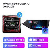 Junsun 4G Android магнитола для KIA Cee 'd CEED JD 2012-2016  wi-fi, фото 2