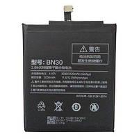 Аккумулятор АКБ Xiaomi BN30 для Xiaomi RedMi 4А (Li-ion 4.4V 3030mAh) Оригинал Китай