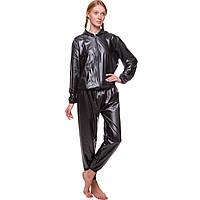 Костюм для похудения (весогонка) Sauna Suit, PU, полиэстер, р-р L-3XL-48-56 (ST-2052-BK)
