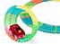 Меджик трек | Детский гоночный автотрек | Гибкий трек-конструктор Magic Tracks 165 элементов, фото 3